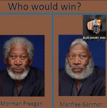 Obvio que Morman Freegan - meme