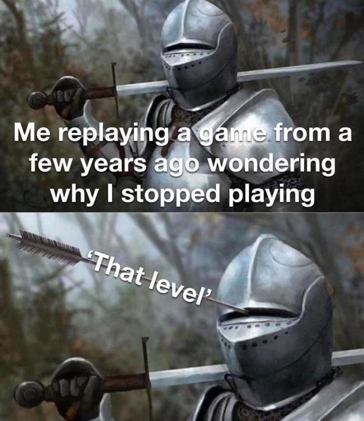 that level - meme