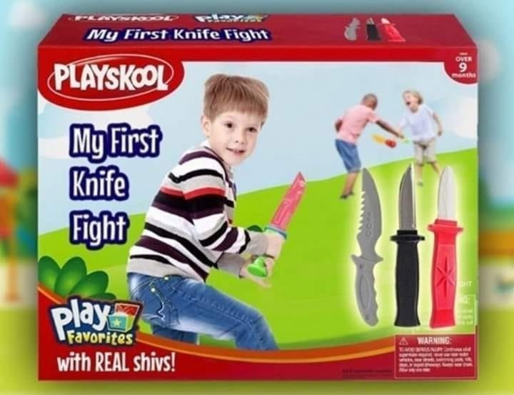 I had one when I was little. My favorite was the switch blade - meme
