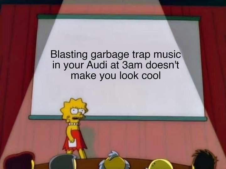 *insert Audi stereotype* - meme