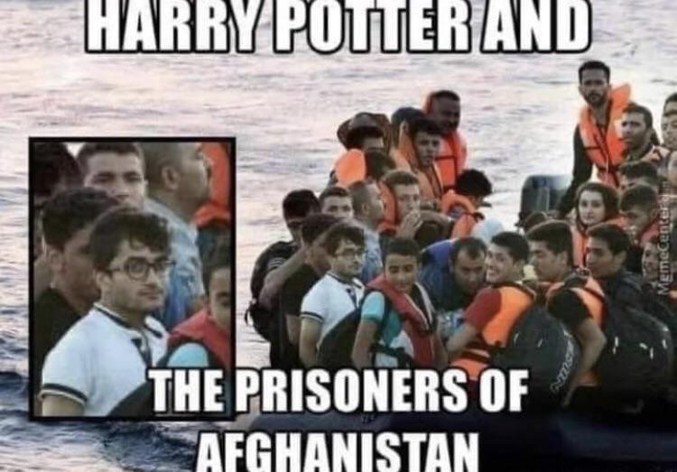You're a migrant, Harry - meme