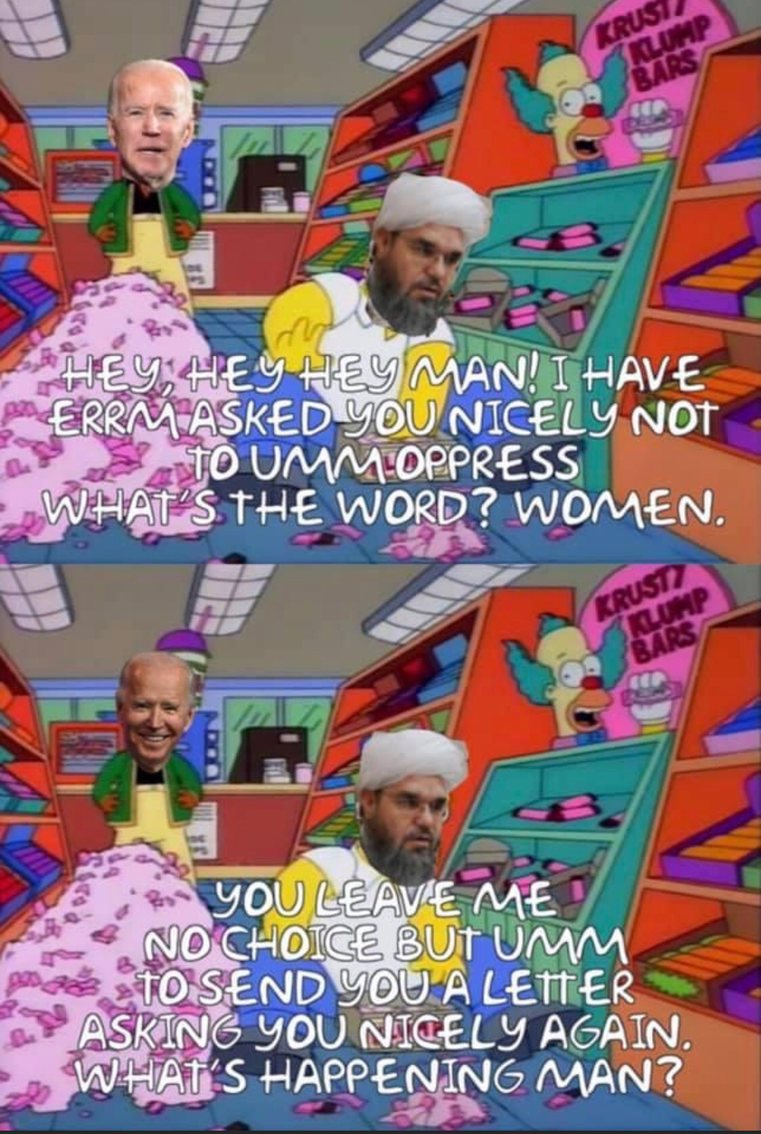 a kindly worded letter! that ought to stop them - meme
