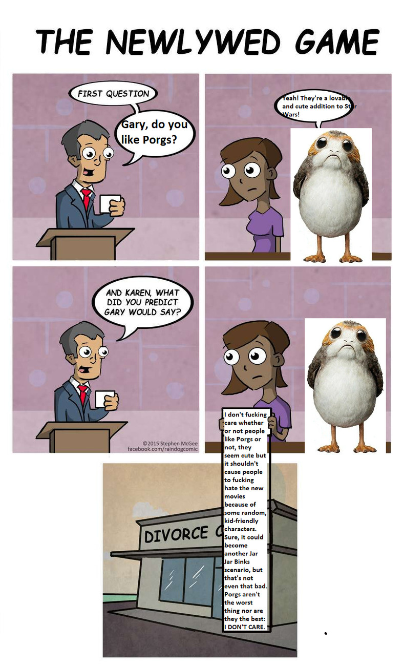 [Insert original and funny title relating to porgs here] - meme