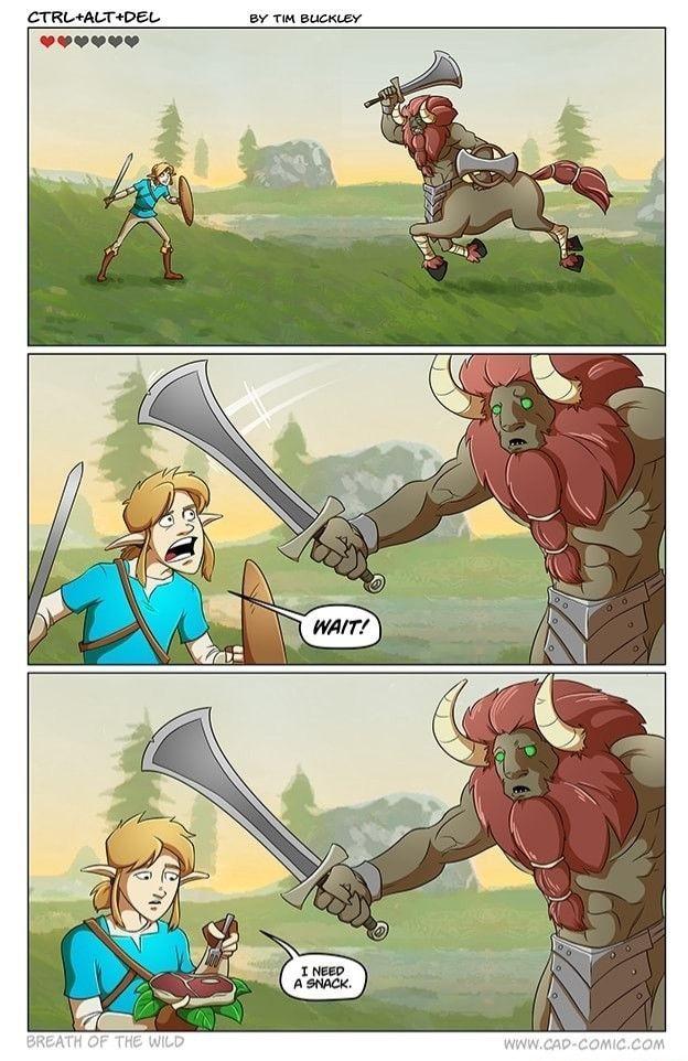 Zelda !!! - meme