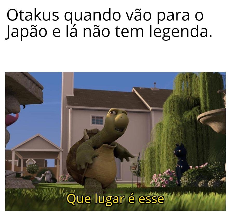 Otaku burrão - meme