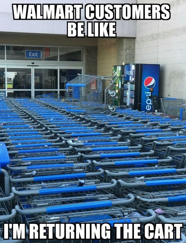 Only at Walmart - meme
