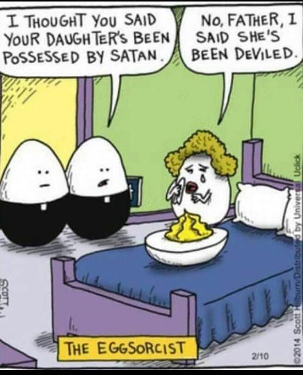Comment Egg Puns - meme