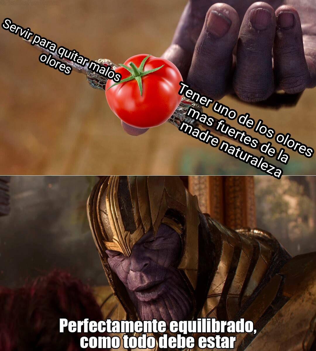 Perfectamente equilibrado - meme