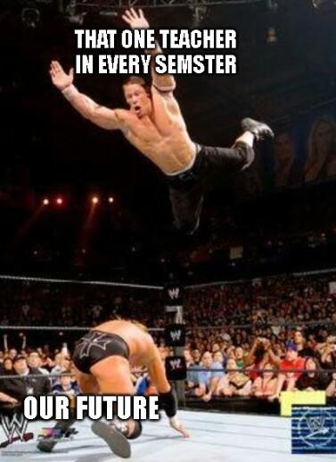 Literally every f***ing semester - meme