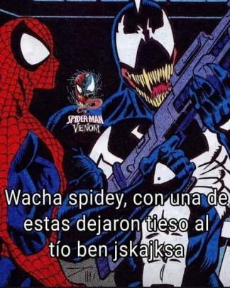 Venom el mata bens - meme