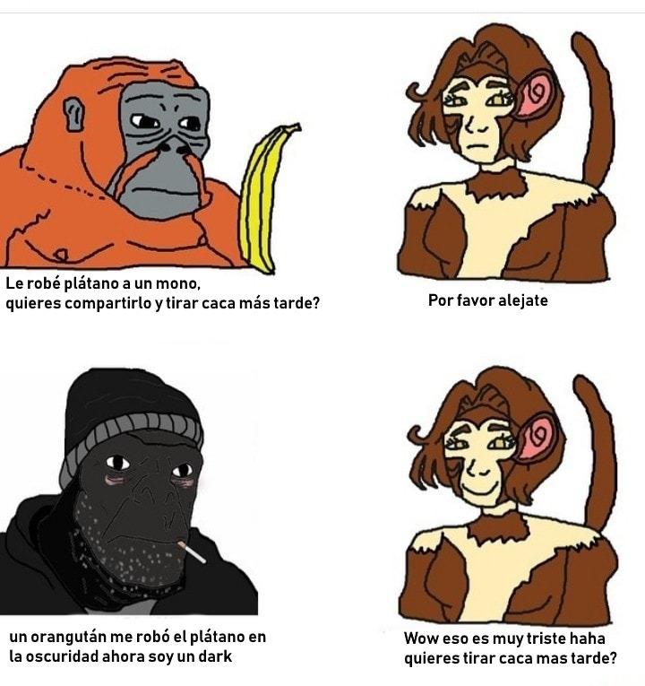 discucion de momos simon entre santy y betotaro - meme