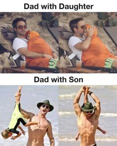 I feel bad for the son - meme