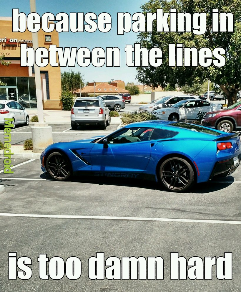 Douchebag Parking pt. 2 - meme