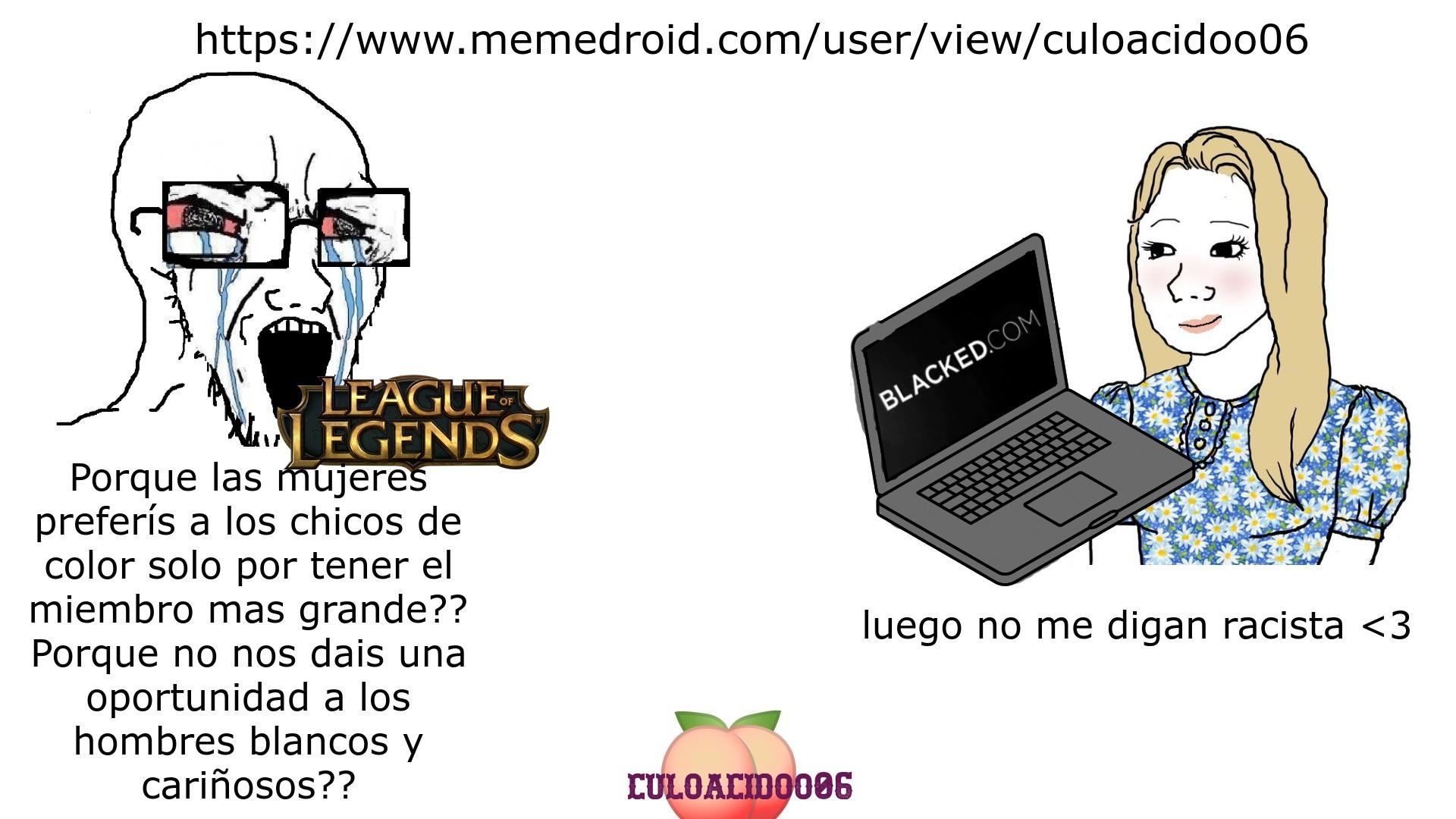 Blacked.com, mi pagina favorita :megusta: - meme