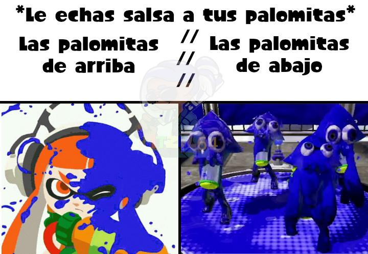Palomitas - meme