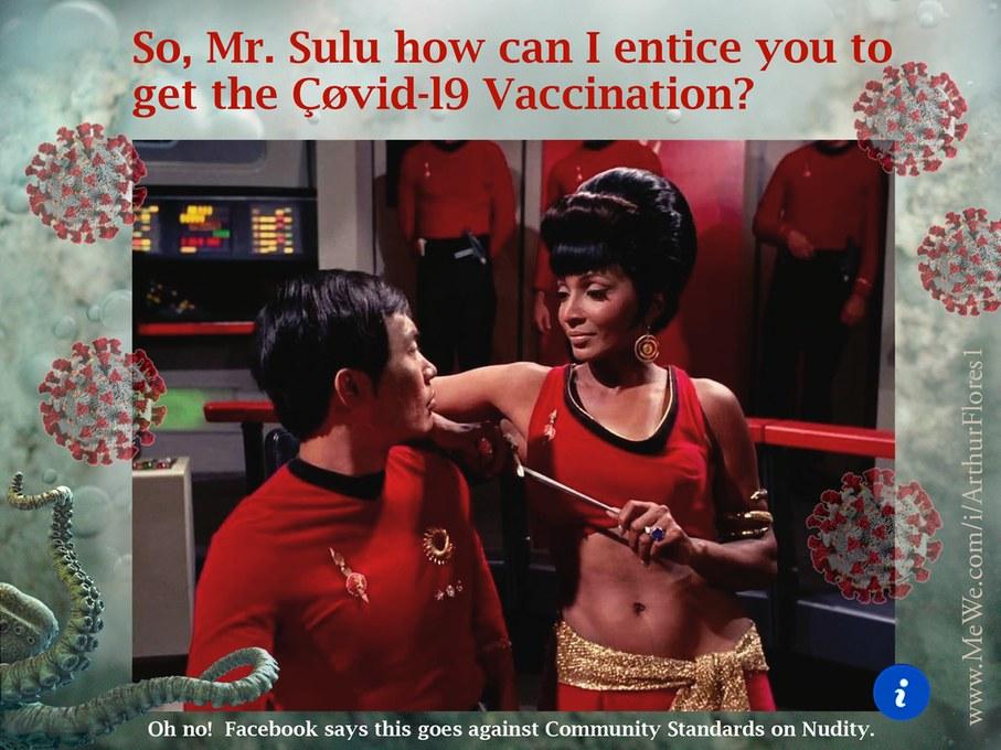Vaccine Sulu - meme