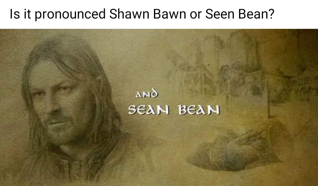 Sean Bean - meme