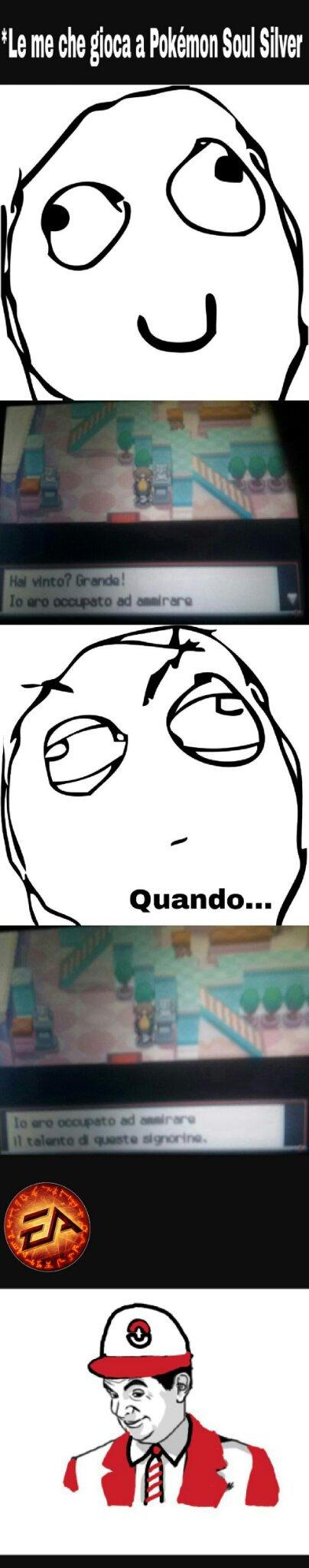 Mi sono rimesso a nerdare a Soul Silver         Spero piaccia       Cito Dogeon - meme