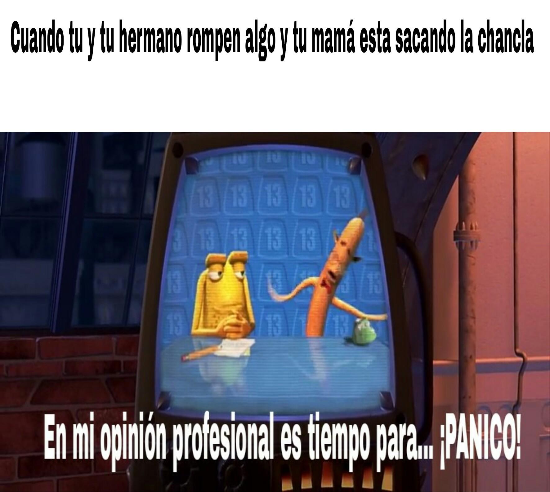 PANICO! - meme