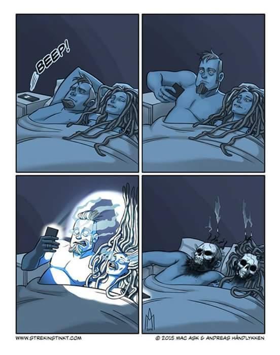 La lumière du portable la nuit X) - meme