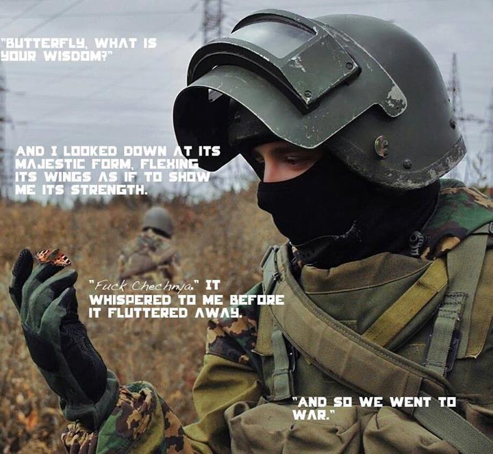 Fuck Chechnya - meme