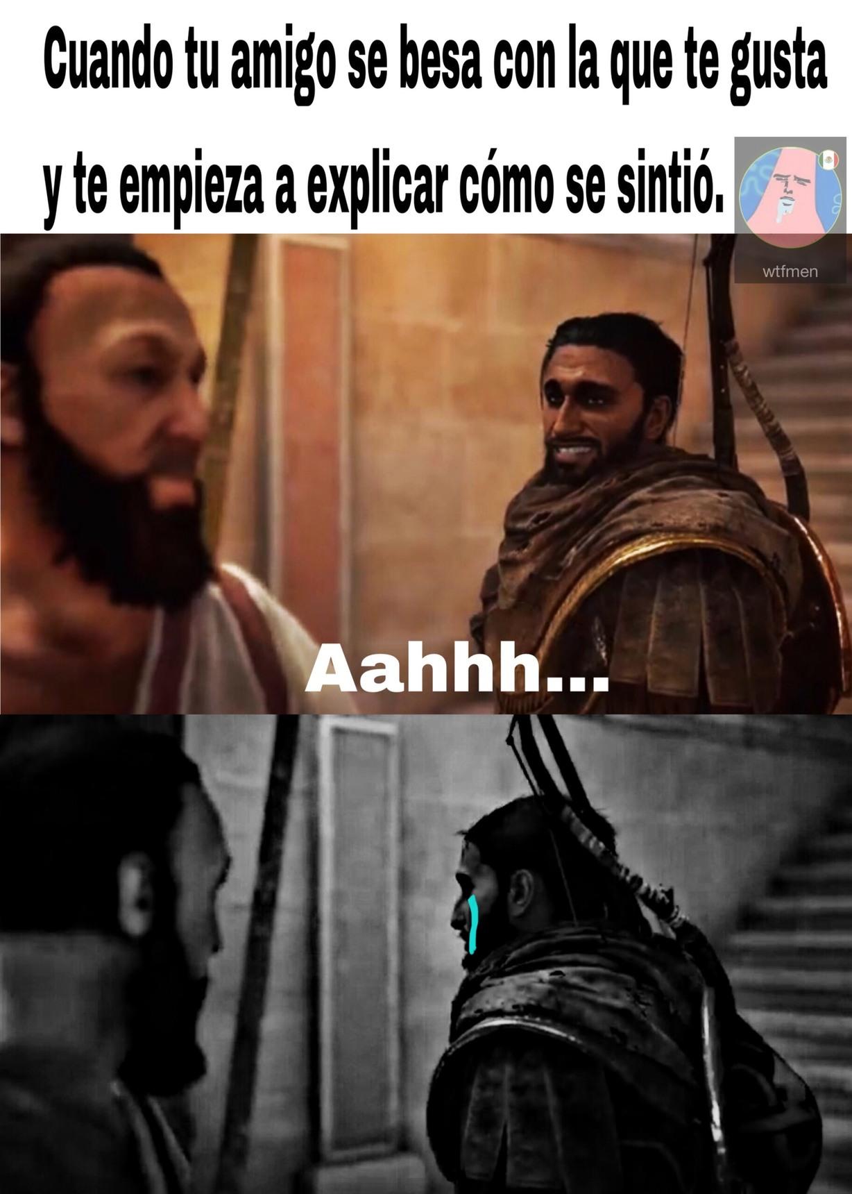 pobre Bayek :,v - meme