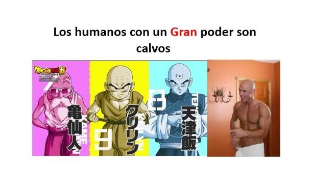 Los humanos mas poderosos del Mundo - meme