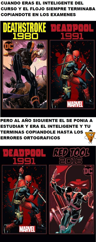 Marvel Y DC se copian a cada rato - meme