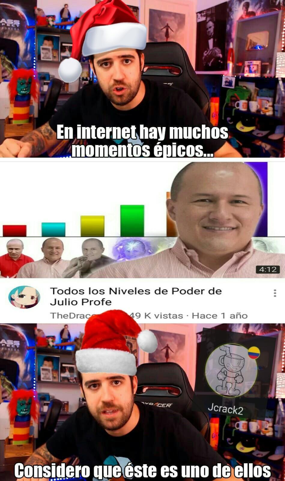 El Salvador de años y sus poderes - meme
