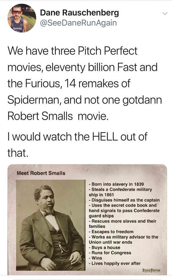 Robert Smalls the Movie - meme