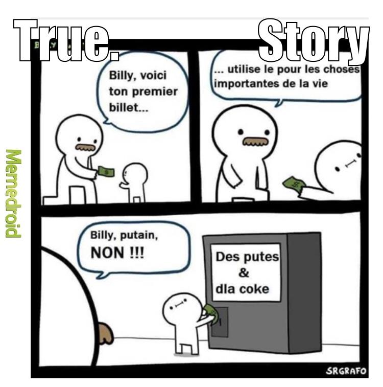 c l'histoire de la vie - meme