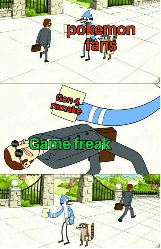 Gen 4 remake! - meme