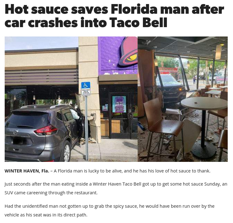 There's good, there's evil, and there's chaos. A.K.A Florida - meme