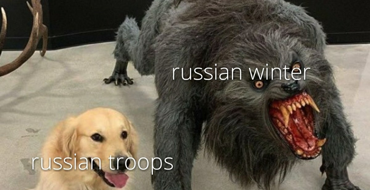 I hate it when winter invades my country - meme