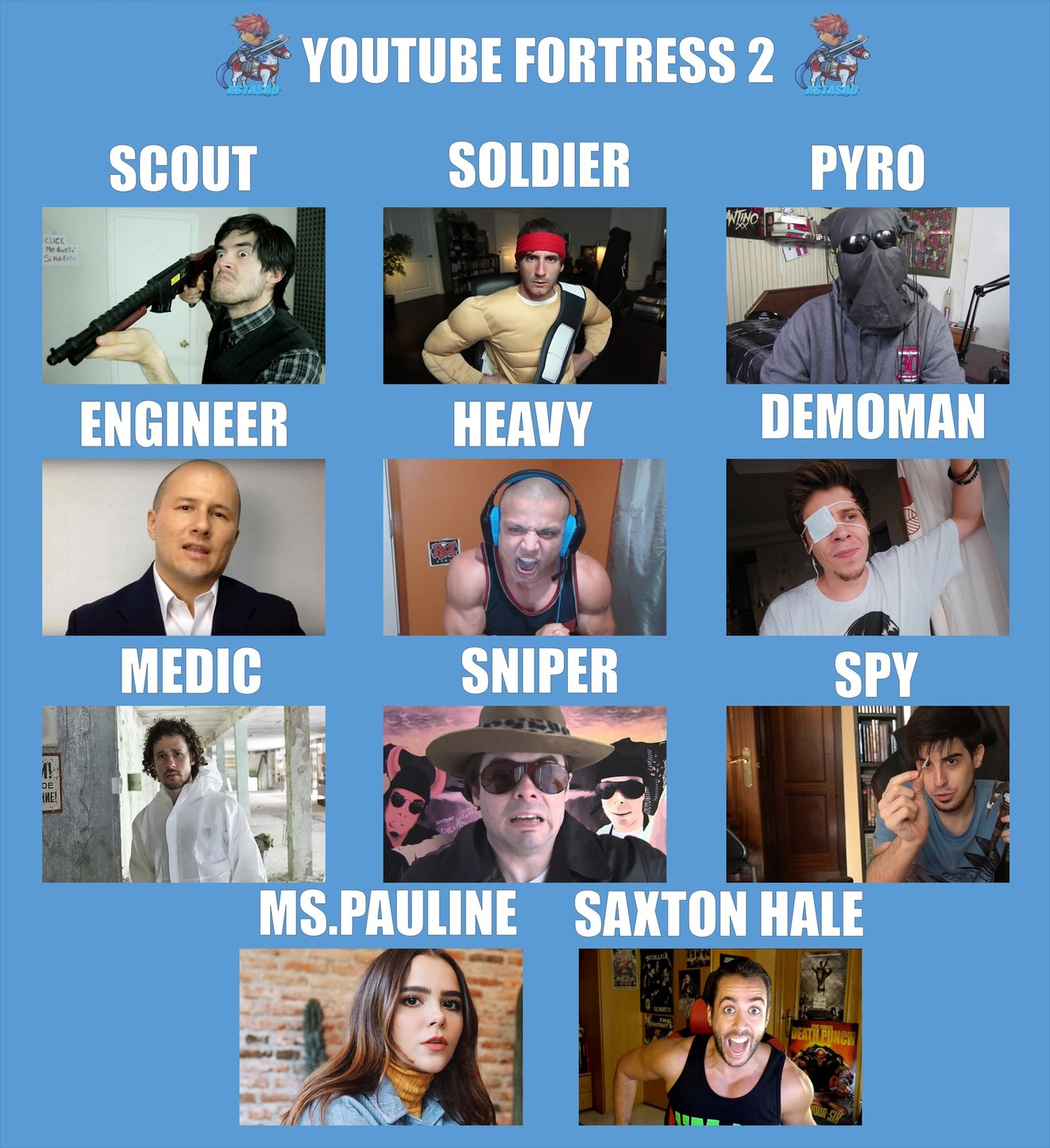 El verdadero team - meme