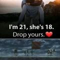 Drop yours