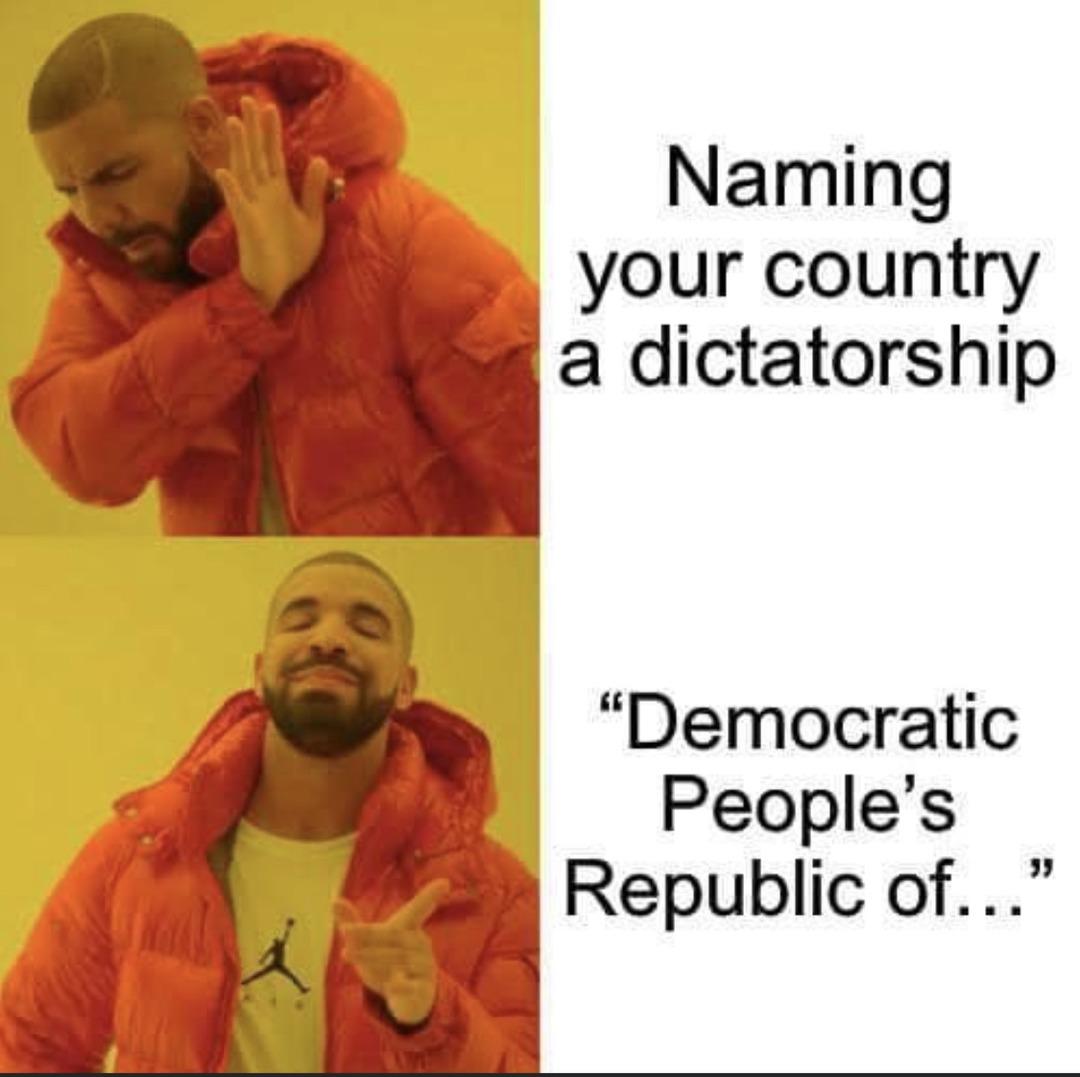 *ahem* uncivilised shithole - meme