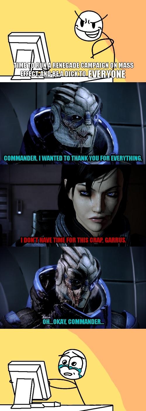 Female commander *creepyface* - meme