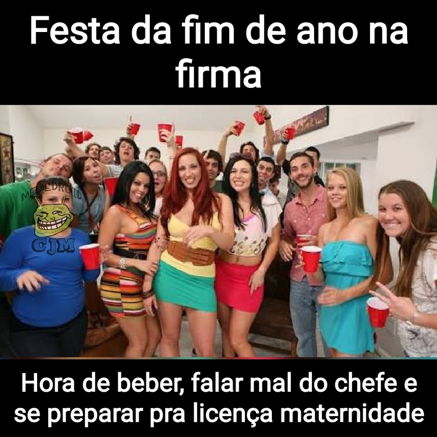 Festa de fim de ano >>>>> novelas da Globo - meme