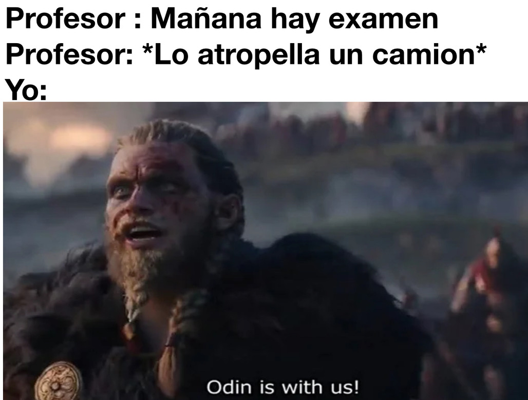 Puto Odin - meme