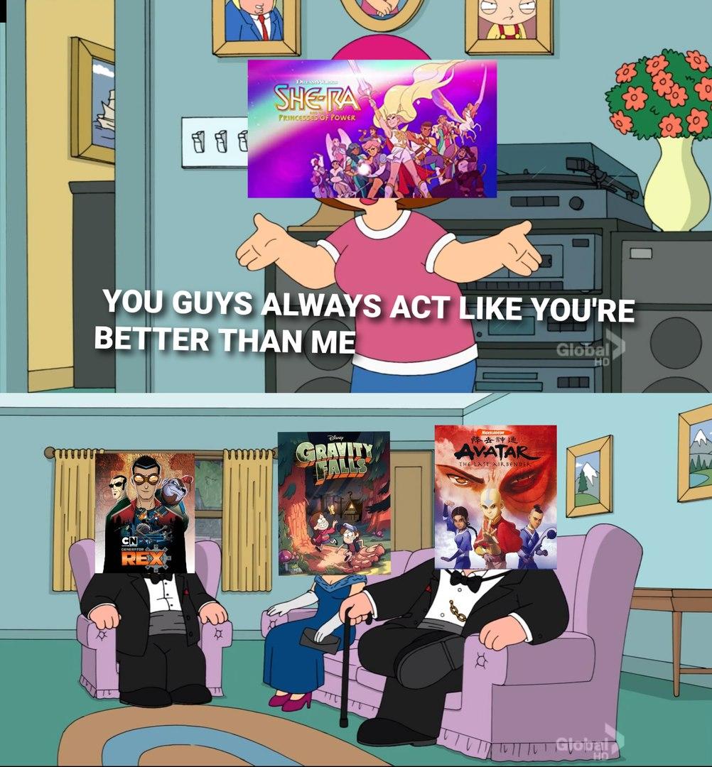 generator rex is criminally underrated - meme