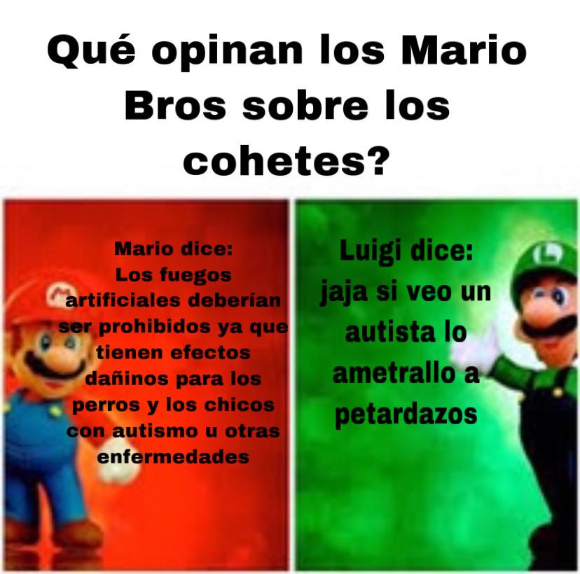 Mario o Luigi? - meme