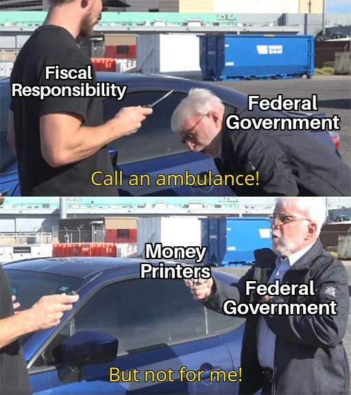 Dongs in a deficit - meme
