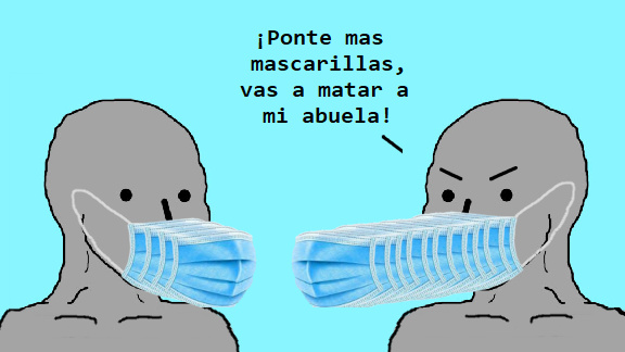 covidiotas - meme