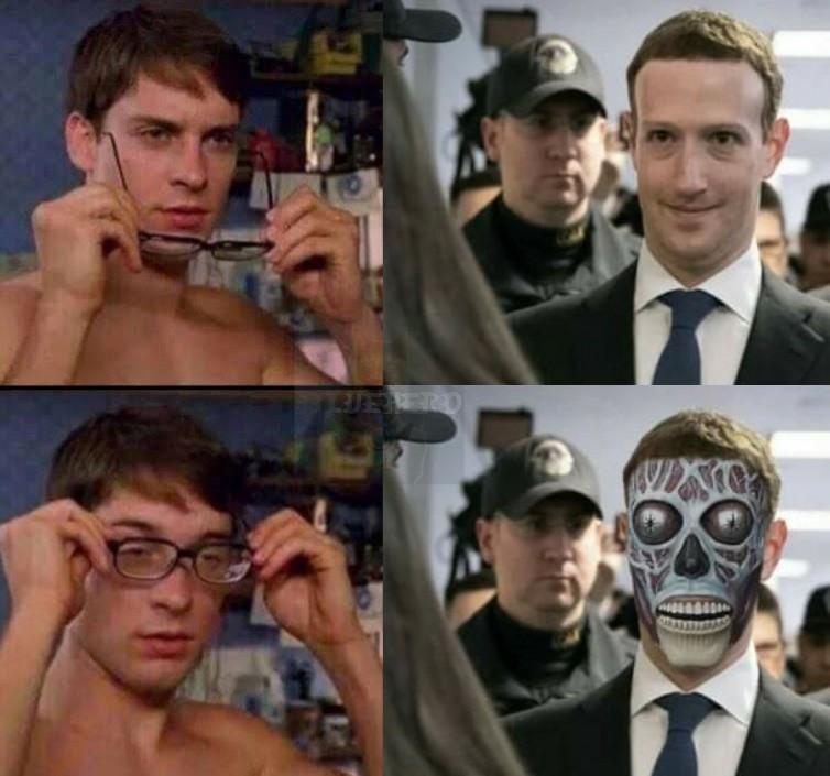 Hes a robot - meme