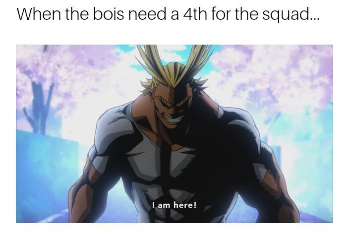 I AM HERE - meme