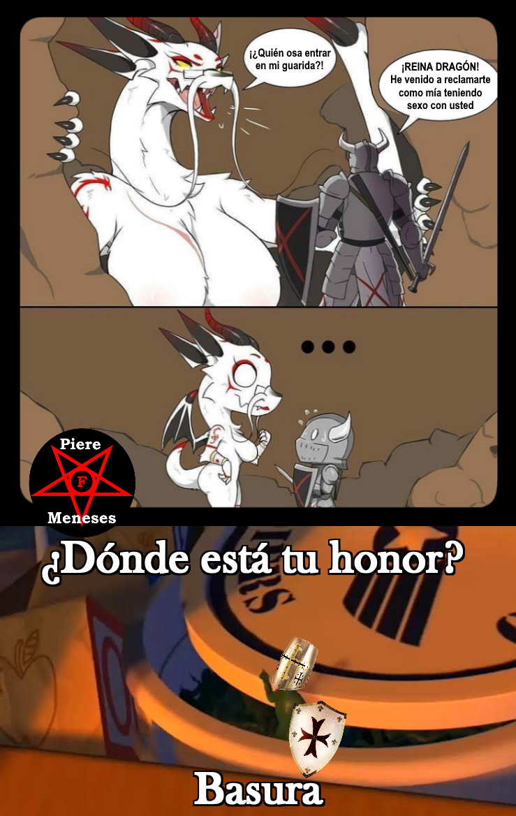 ¡¿Dónde está tu honor?! - meme