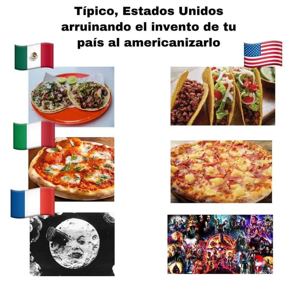 Cine fransua, gringos putos - meme