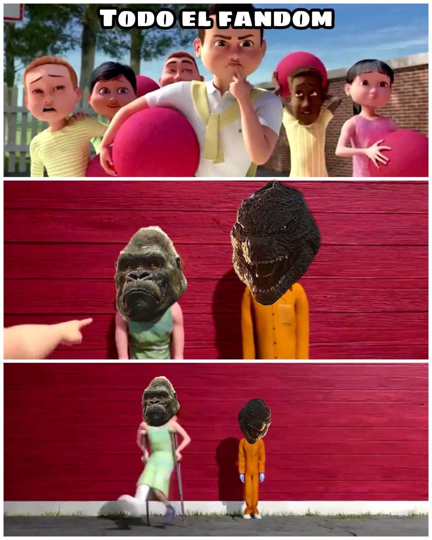 Fandom de king kong vs godzilla - meme