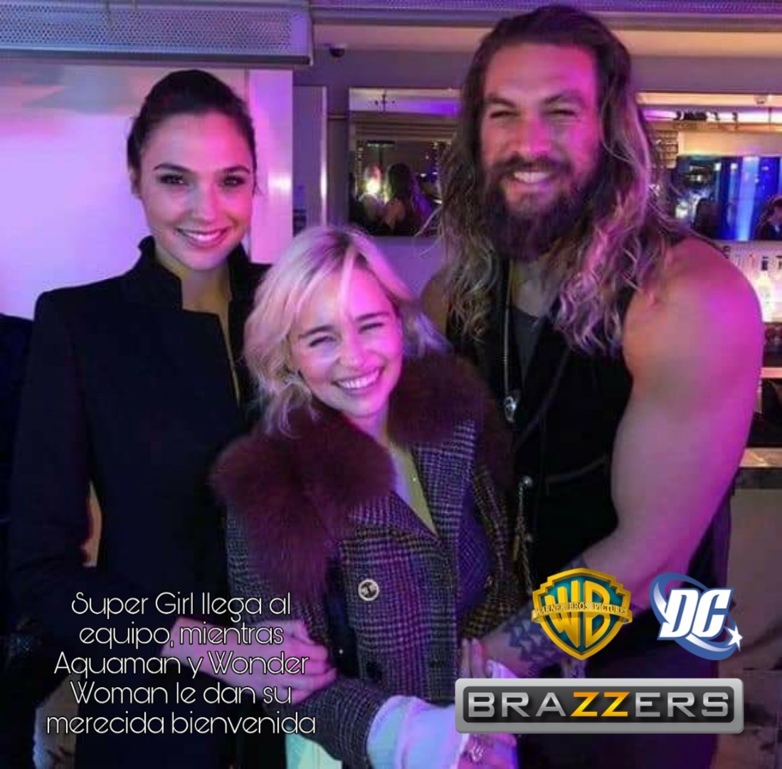 Super girl aquaman y ww - meme